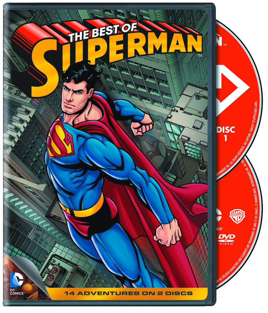 BEST OF SUPERMAN DVD