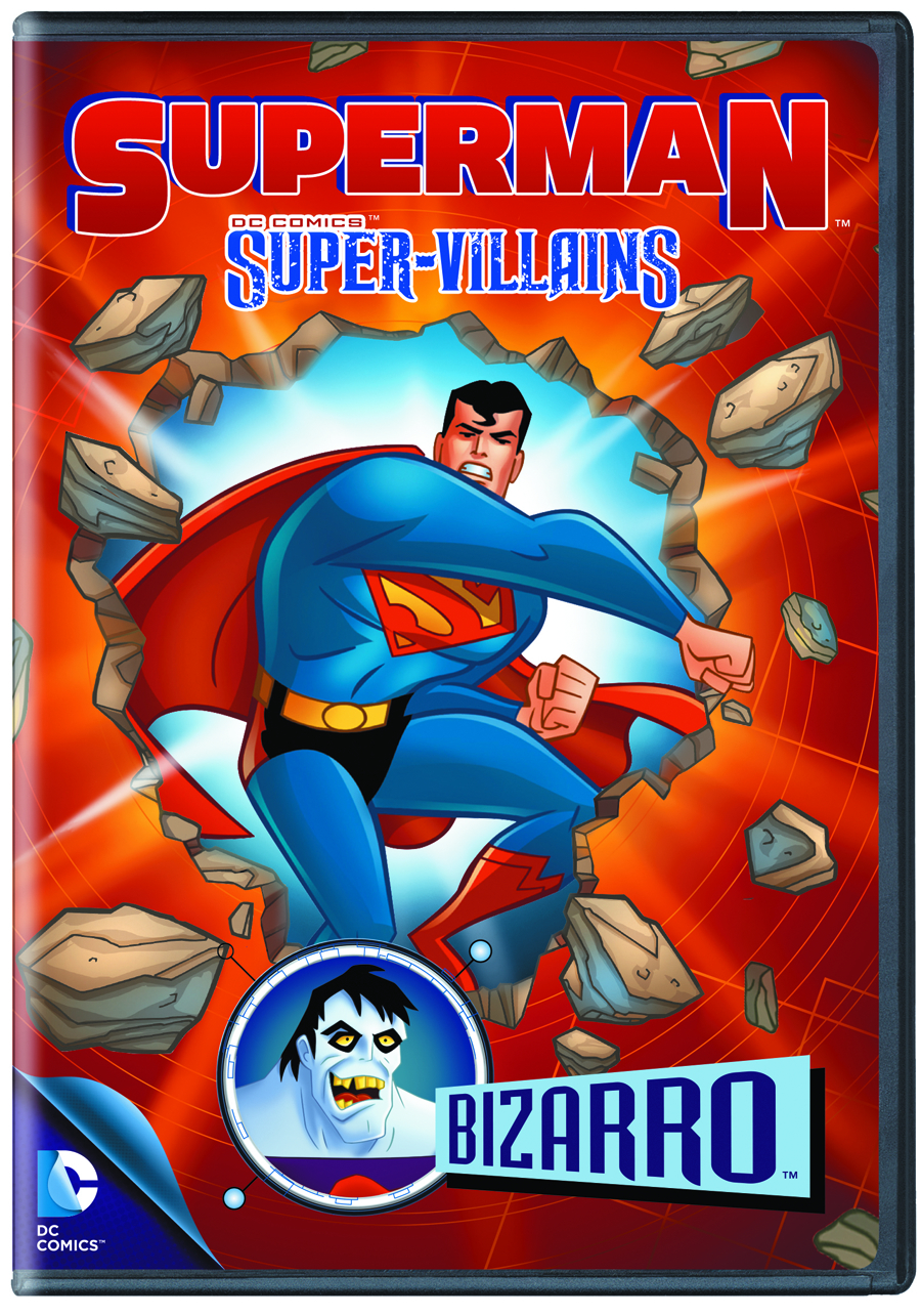 SUPERMAN SUPER VILLAINS BIZARRO DVD