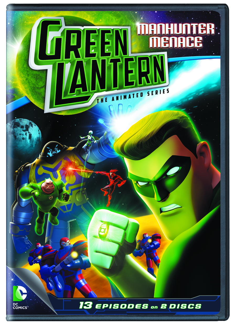 GREEN LANTERN TAS DVD SEA 01 PT 2