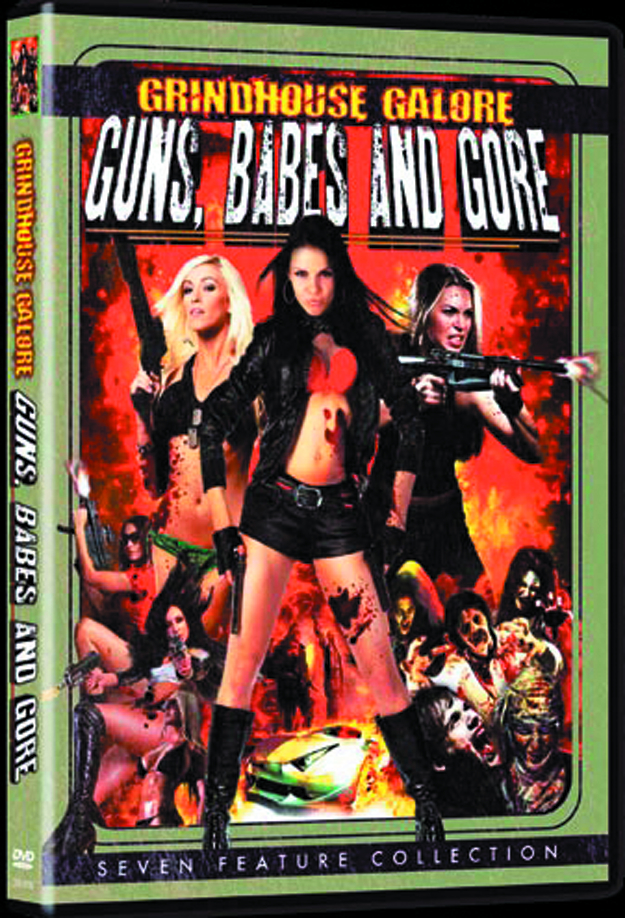 GRINDHOUSE GALORE GUNS BABES AND GORE DVD