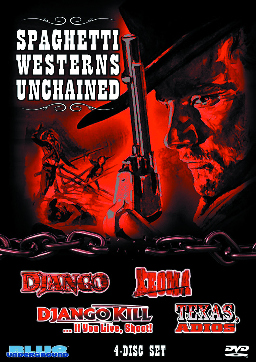 SPAGHETTI WESTERNS UNCHAINED DVD