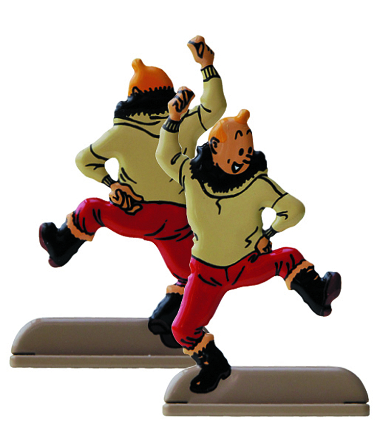 TINTIN SHOOTING STAR RELIEF
