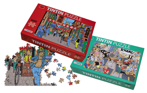 TINTIN STREETS OF SHANGHAI PUZZLE