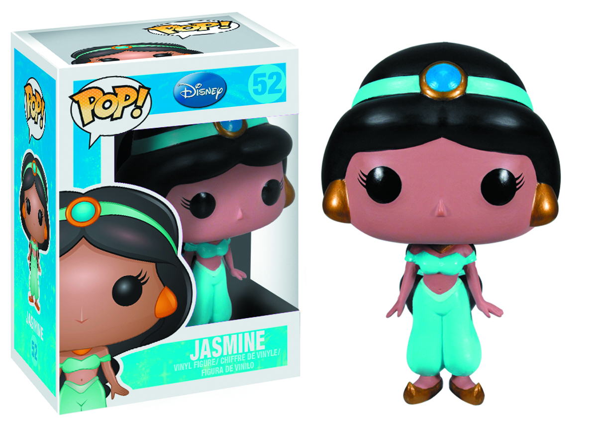 POP DISNEY JASMINE VINYL FIG