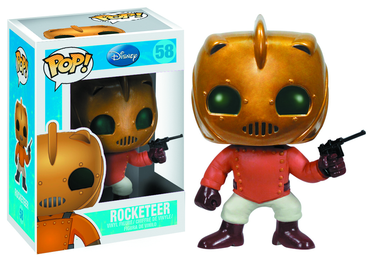 POP DISNEY ROCKETEER VINYL FIG