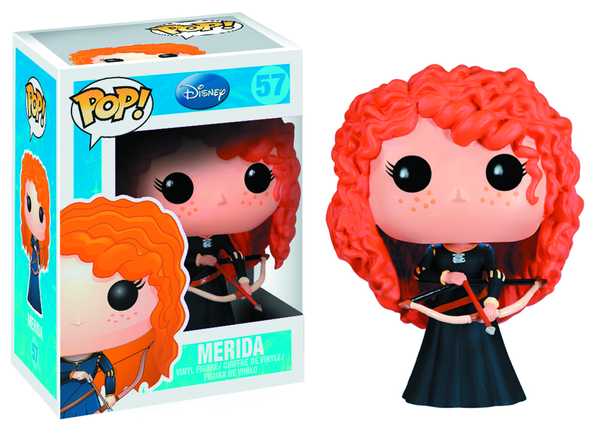 POP DISNEY MERIDA VINYL FIG