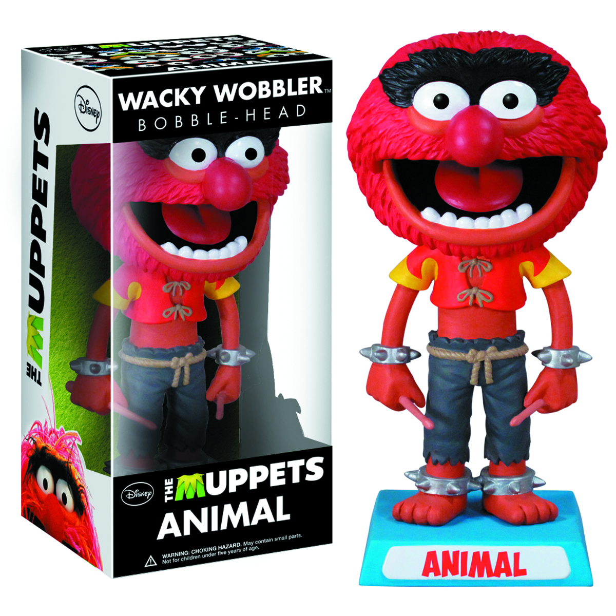 MUPPETS ANIMAL WACKY WOBBLER