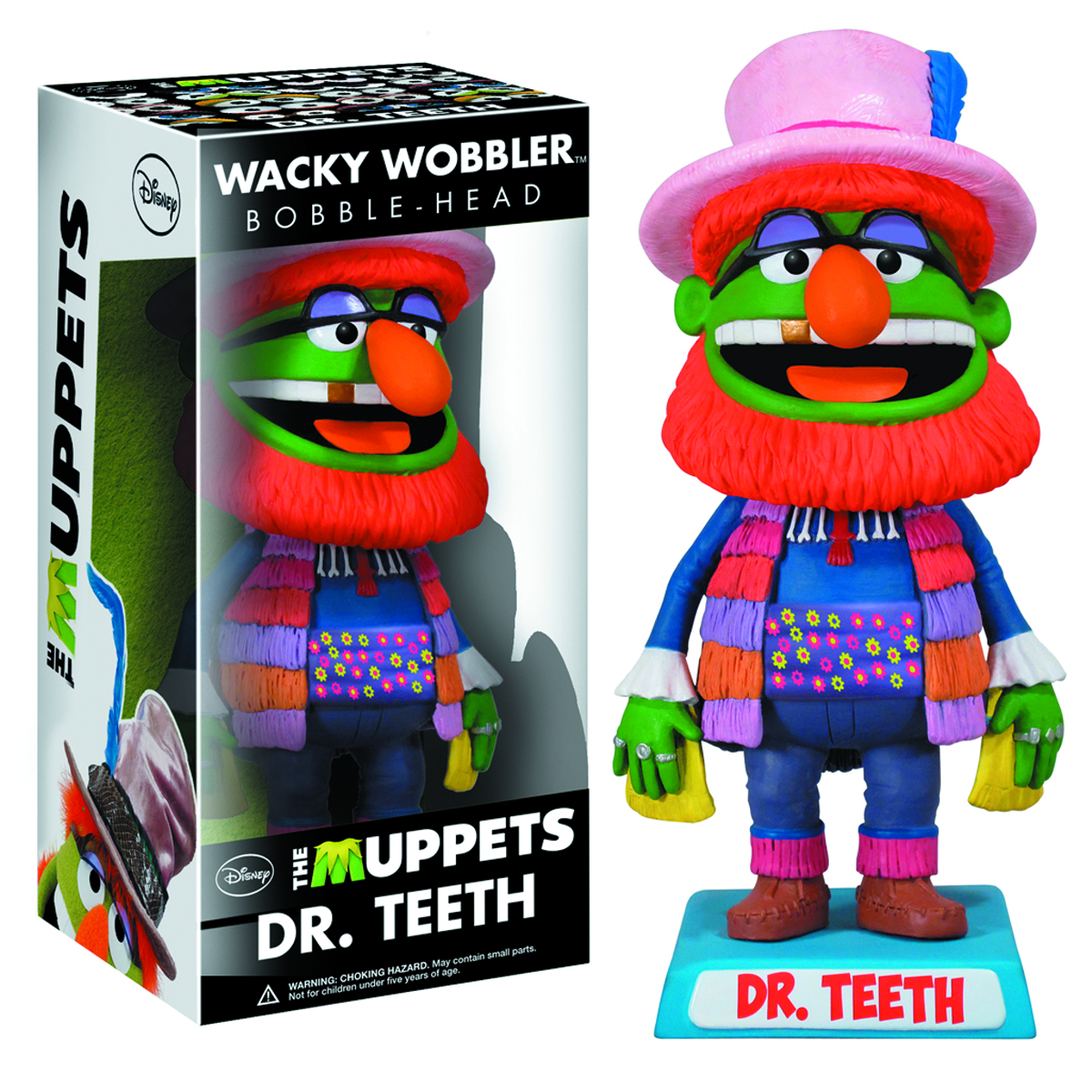 MUPPETS DR TEETH WACKY WOBBLER