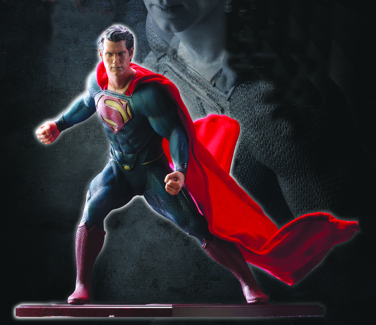 MAN OF STEEL SUPERMAN ARTFX STATUE