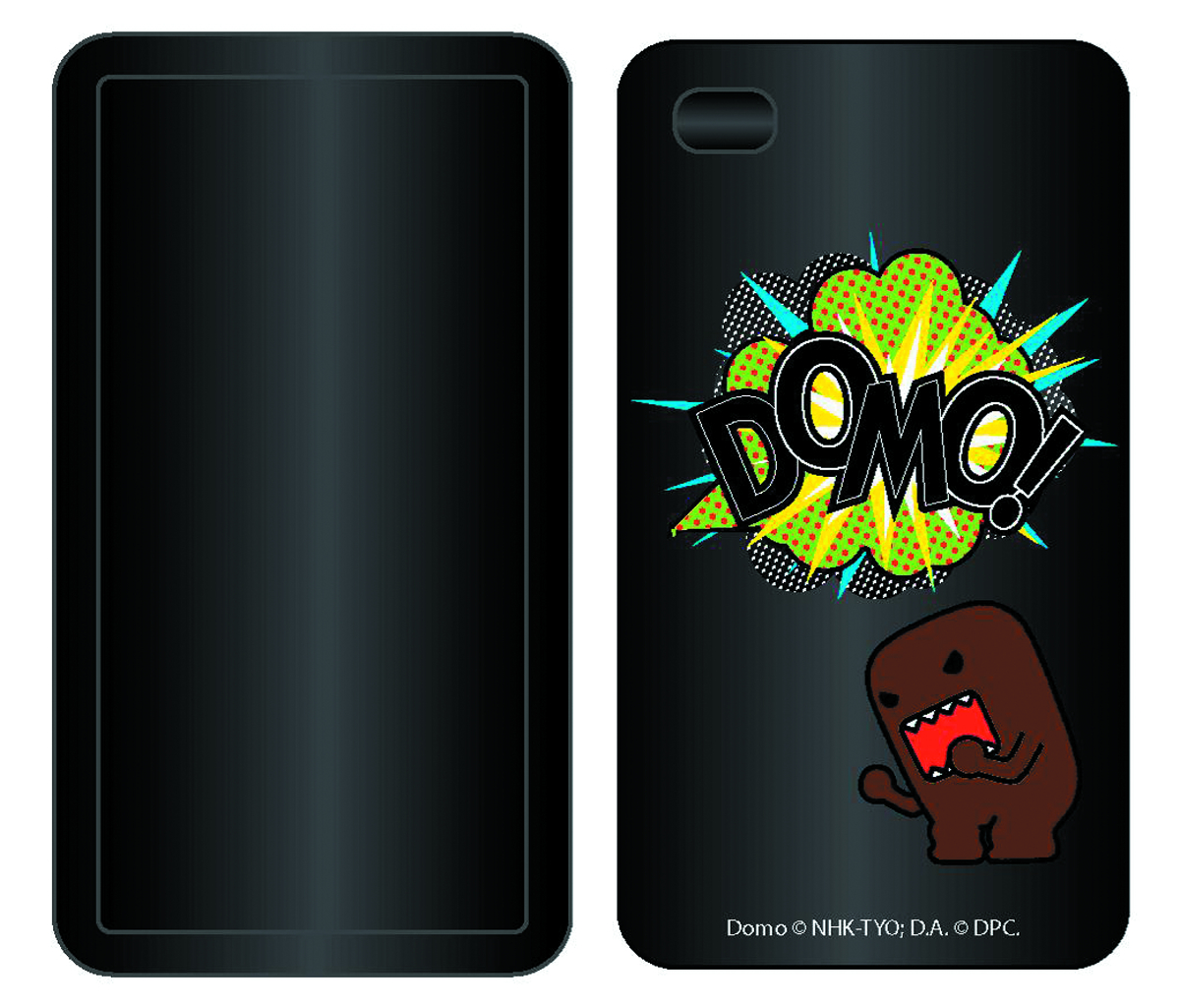 ANGRY DOMO FARTING SILICONE SMARTPHONE CASE