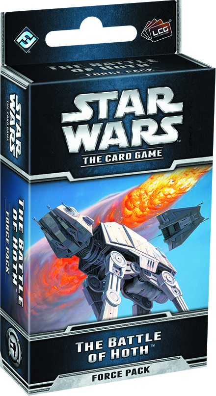 STAR WARS LCG BATTLE OF HOTH FORCE PACK
