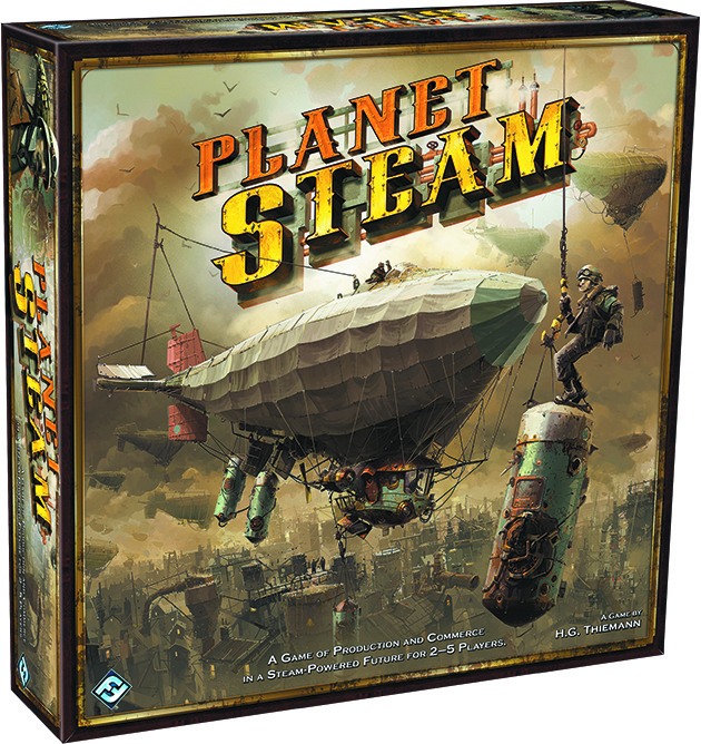 PLANET STEAM BOARD GAME