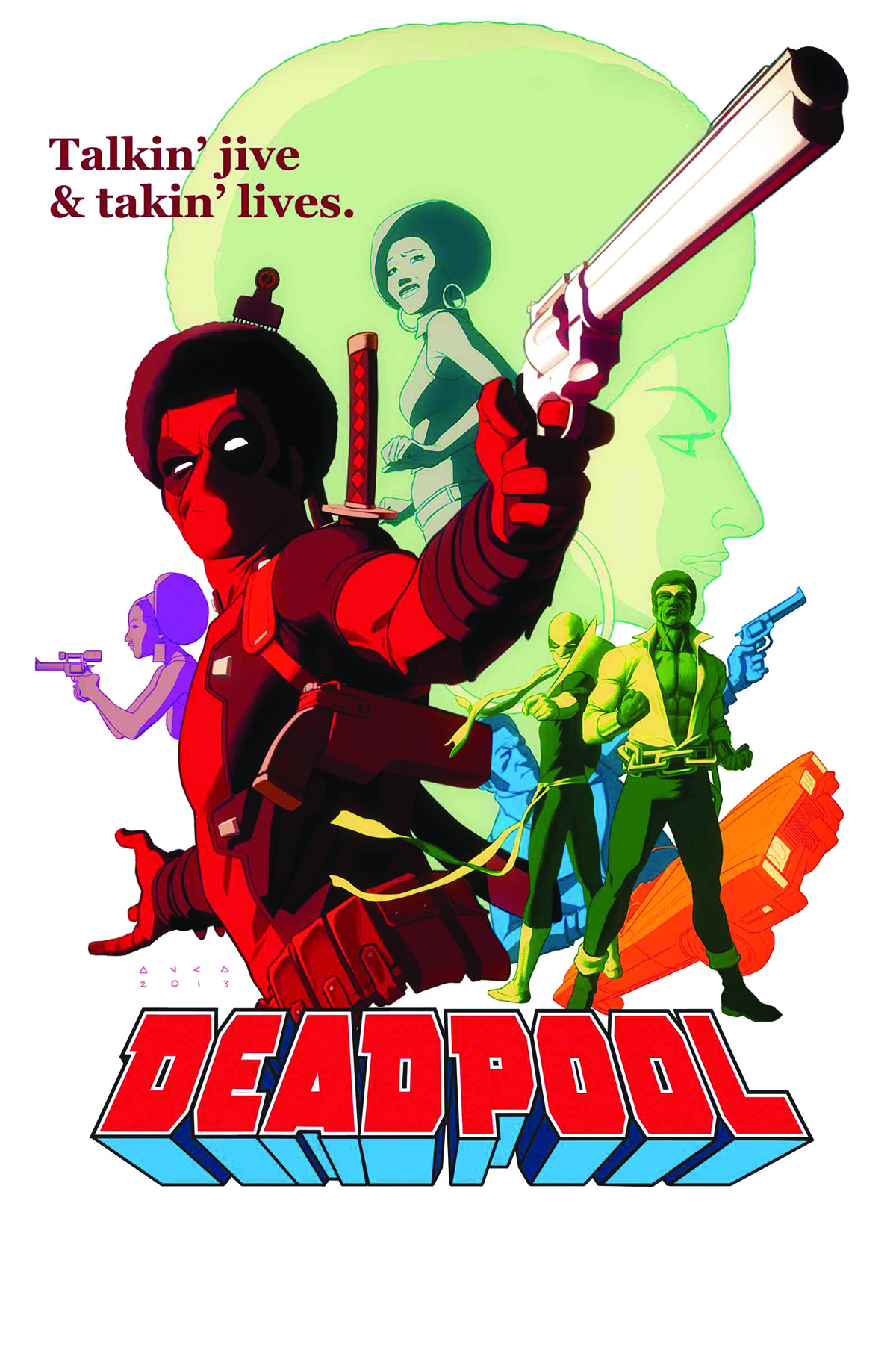DEADPOOL #13 NOW