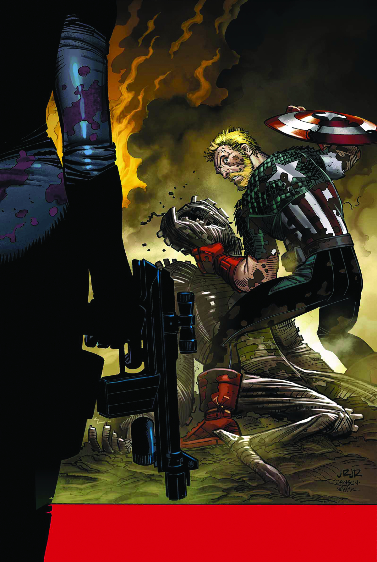 CAPTAIN AMERICA #9 NOW
