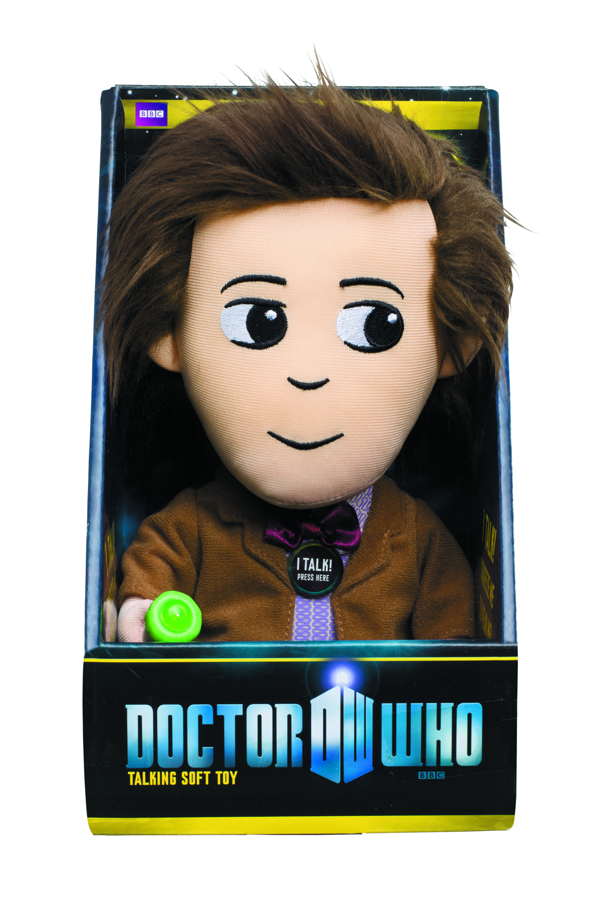 DOCTOR WHO 11TH DOCTOR MEDIUM TALKING PLUSH