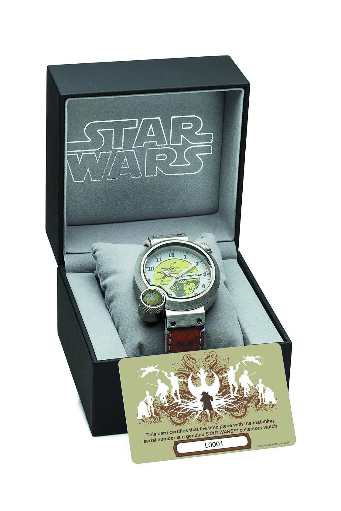 SW LUKE SKYWALKER COLLECTORS WATCH