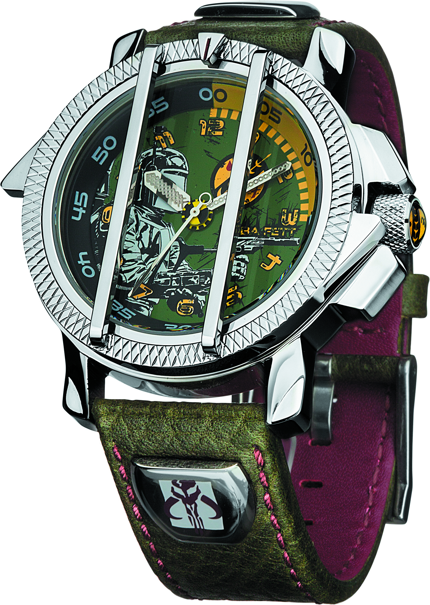 SW BOBA FETT COLLECTORS WATCH