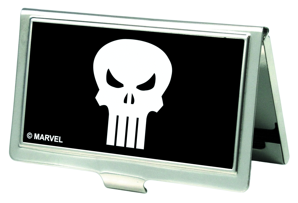 PUNISHER LOGO BUSINESS CARD HOLDER