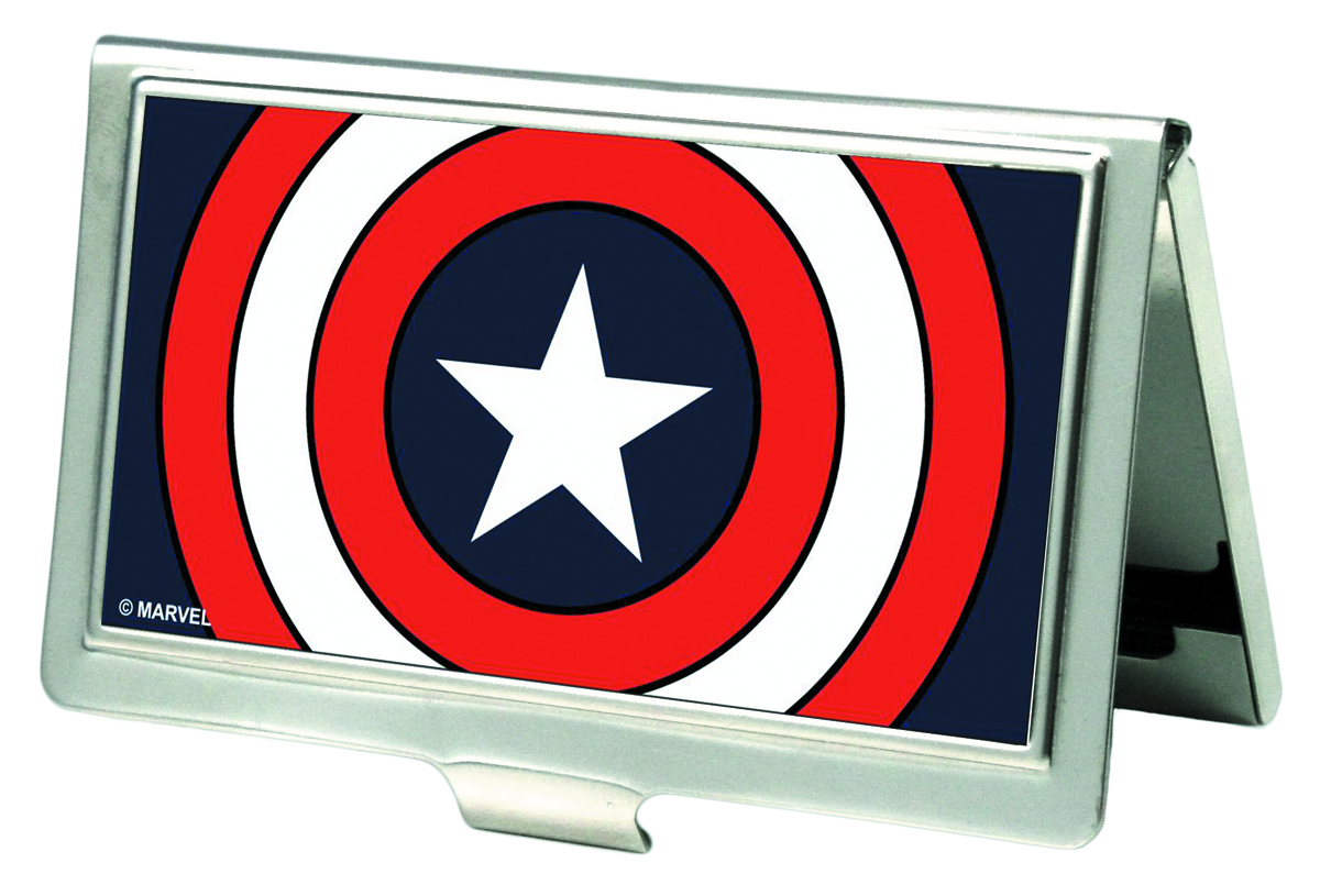 CAPTAIN AMERICA SHIELD BUSINESS CARD HOLDER