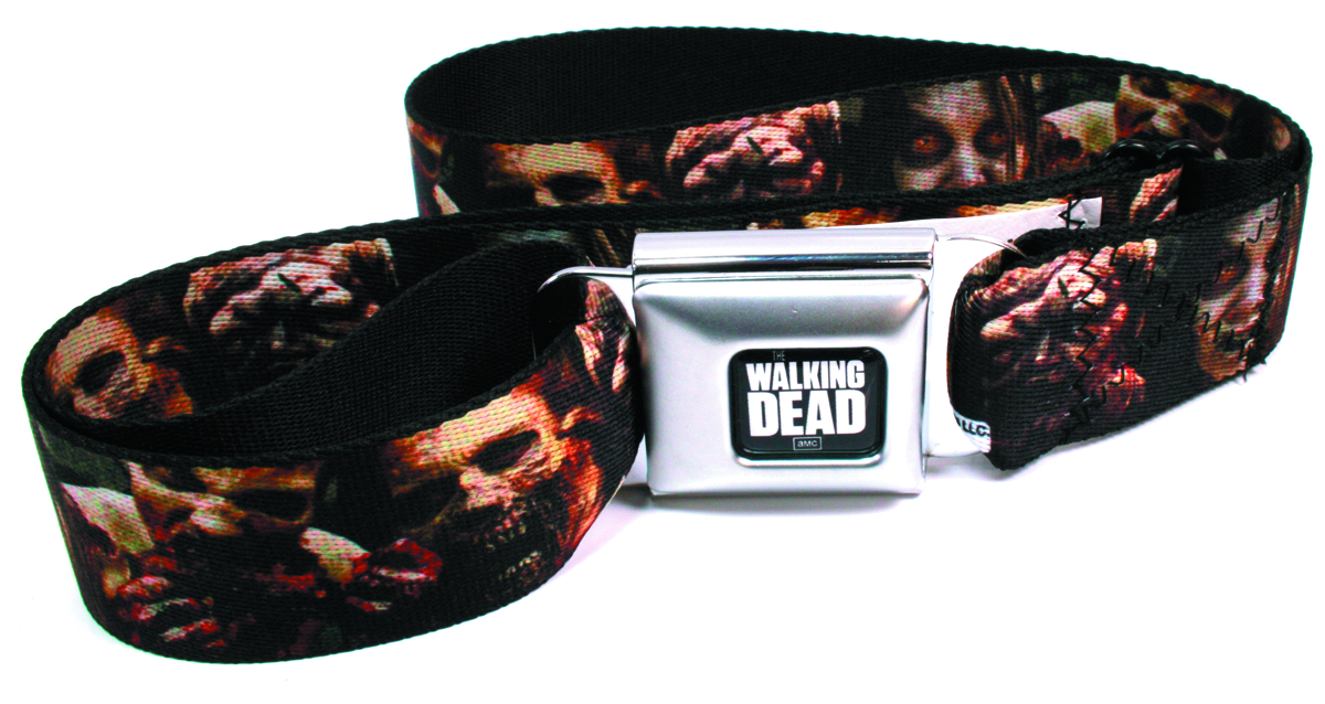 WALKING DEAD ZOMBIES SEATBELT BELT