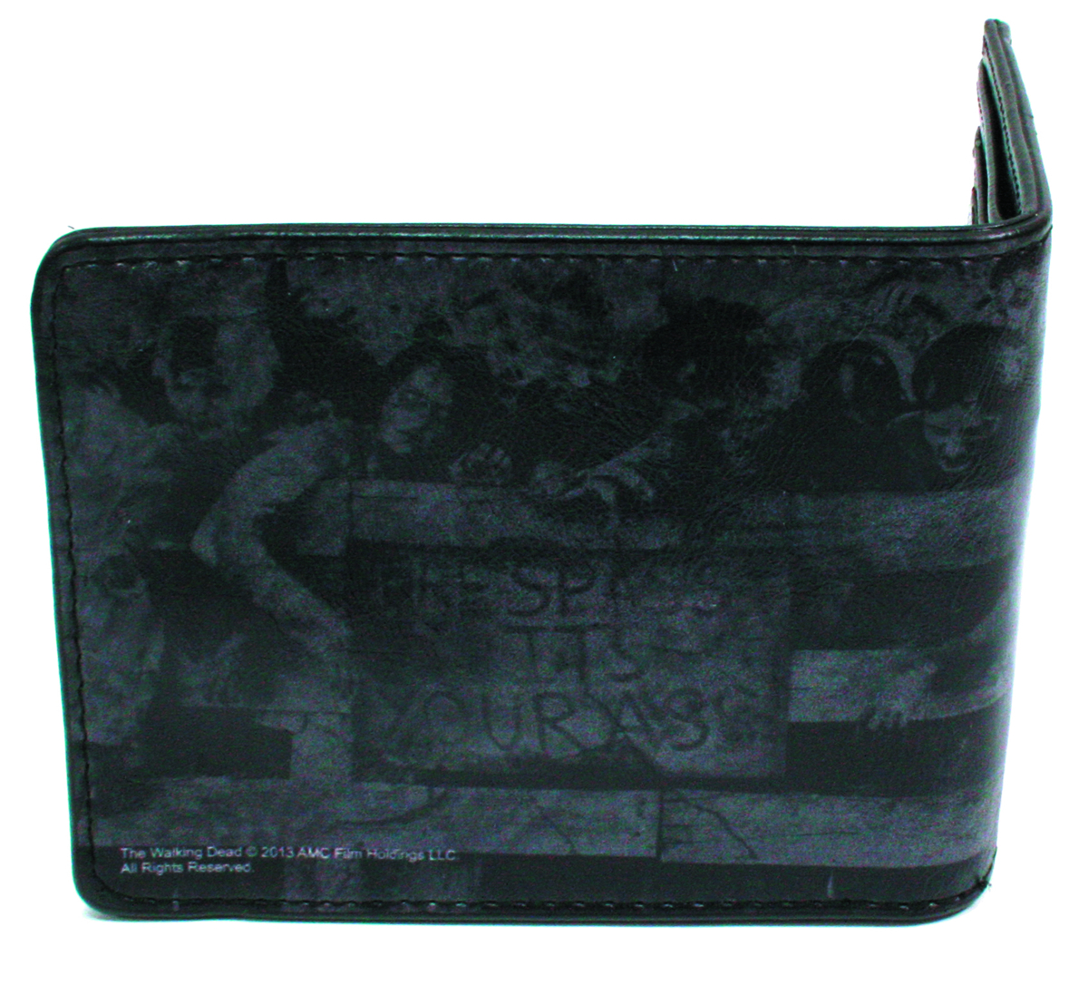WALKING DEAD ZOMBIE WOMAN BI-FOLD WALLET