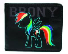 MY LITTLE PONY BRONY BI-FOLD WALLET