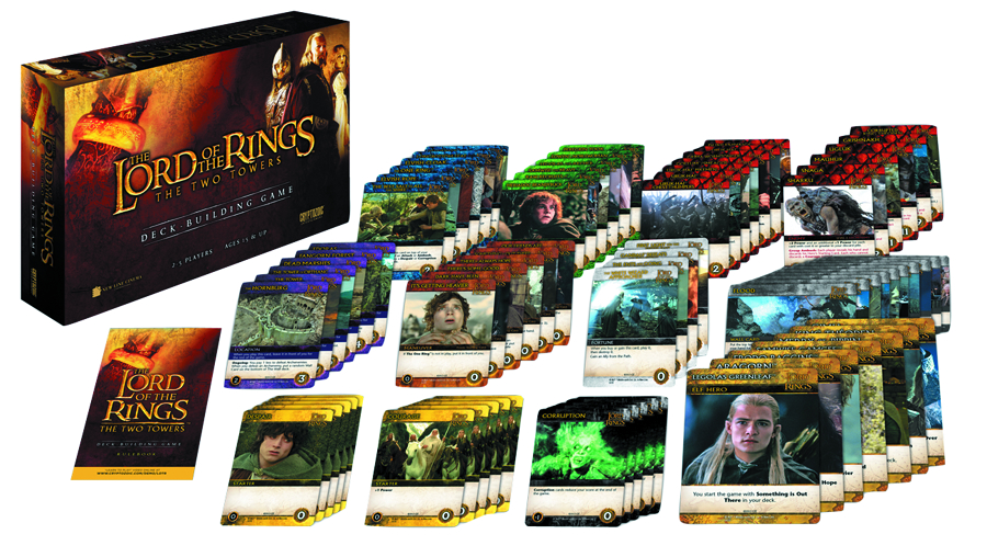 LOTR TWO TOWERS DECK BUILDING GAME