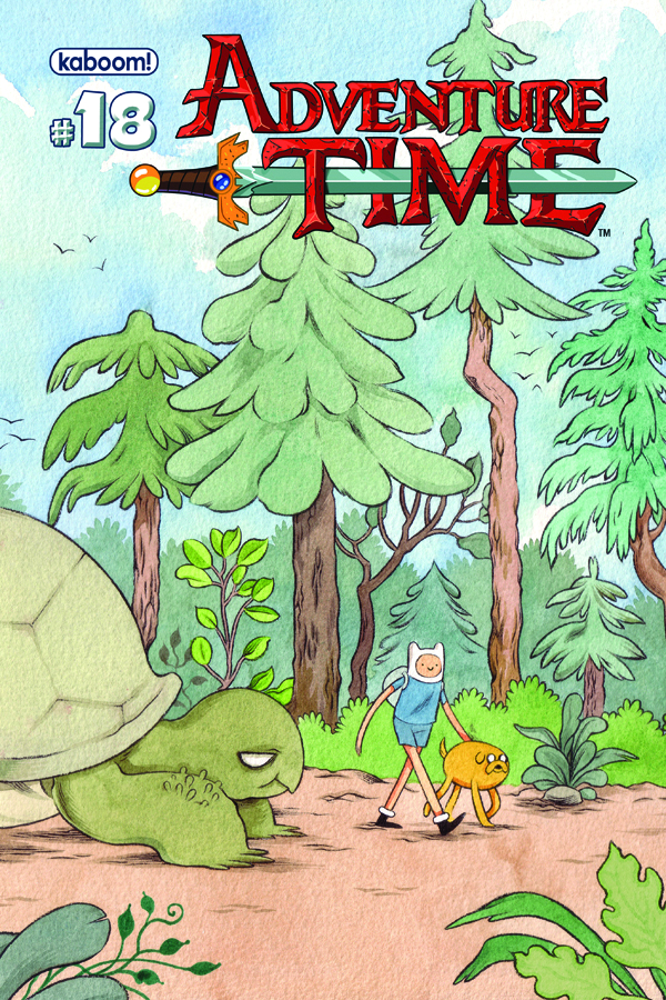 ADVENTURE TIME #18 MAIN CVRS
