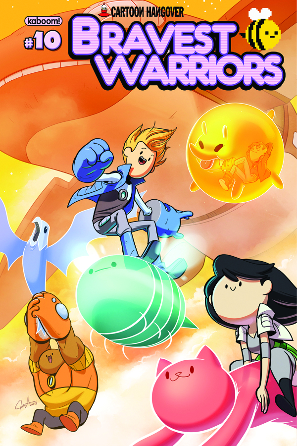 BRAVEST WARRIORS #10 MAIN CVRS