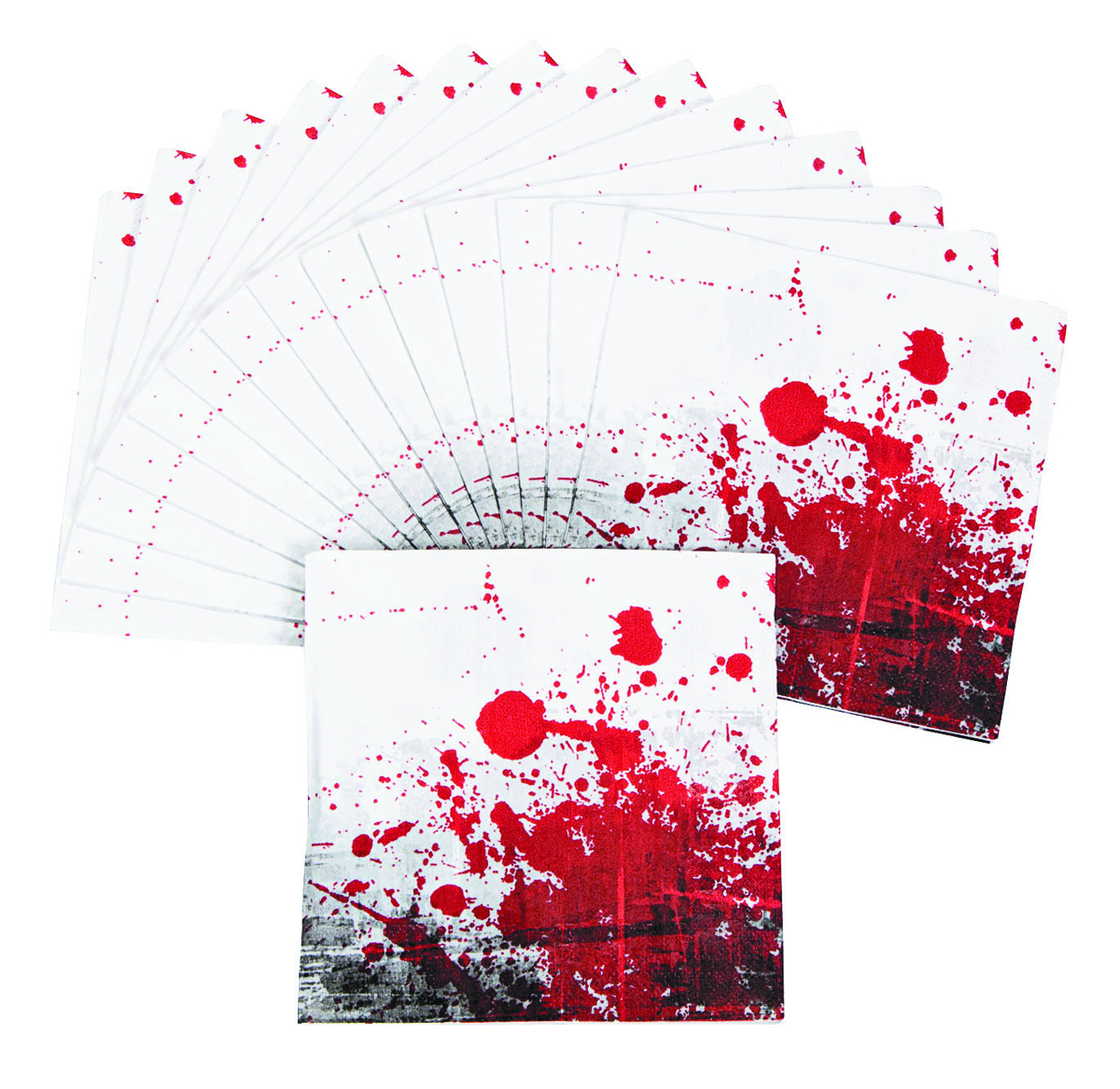 ZOMBIE PARTY LUNCHEON NAPKINS 16PC PK