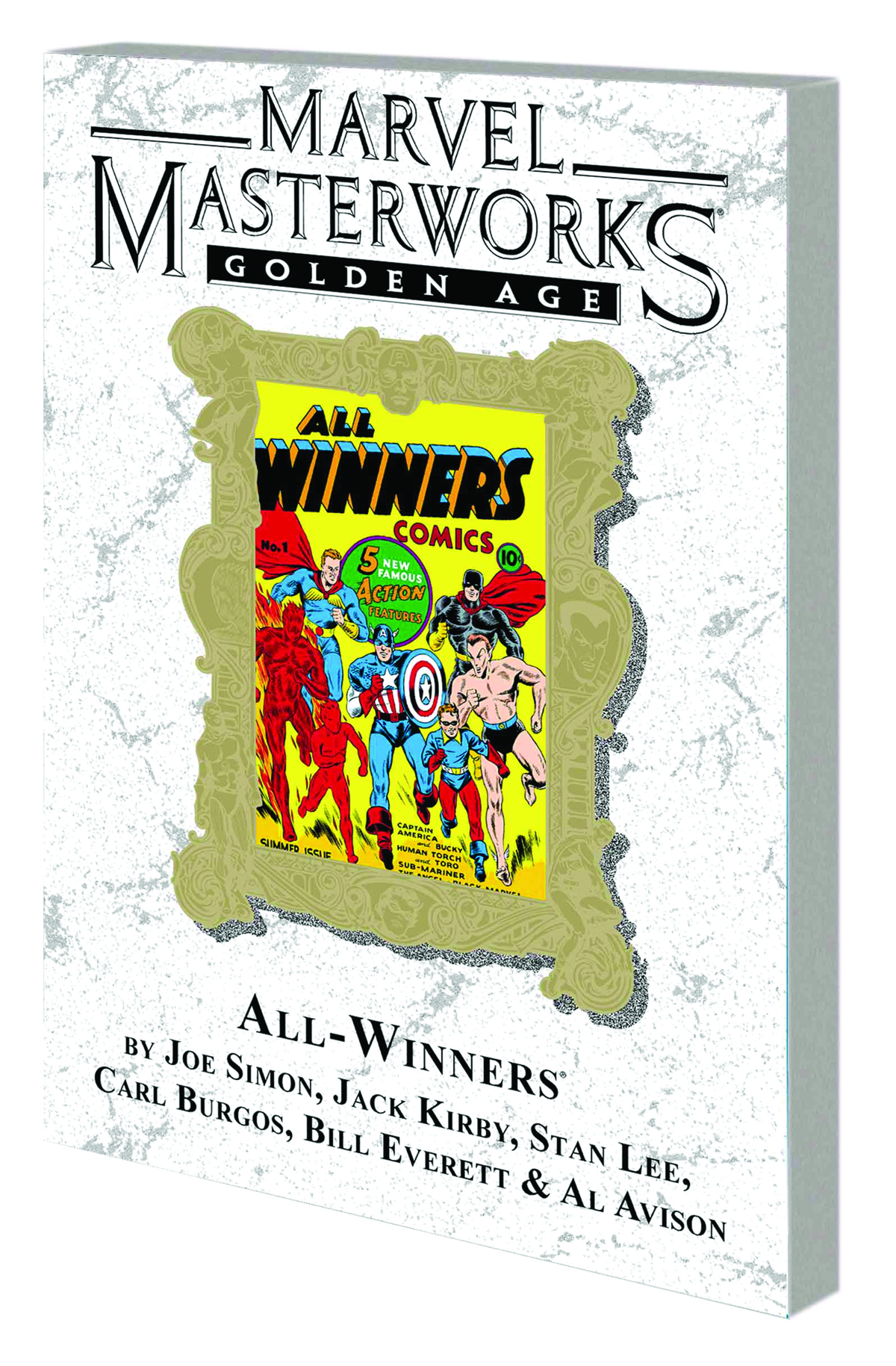 MMW GOLDEN AGE ALL WINNERS TP VOL 01 DM VAR ED 55