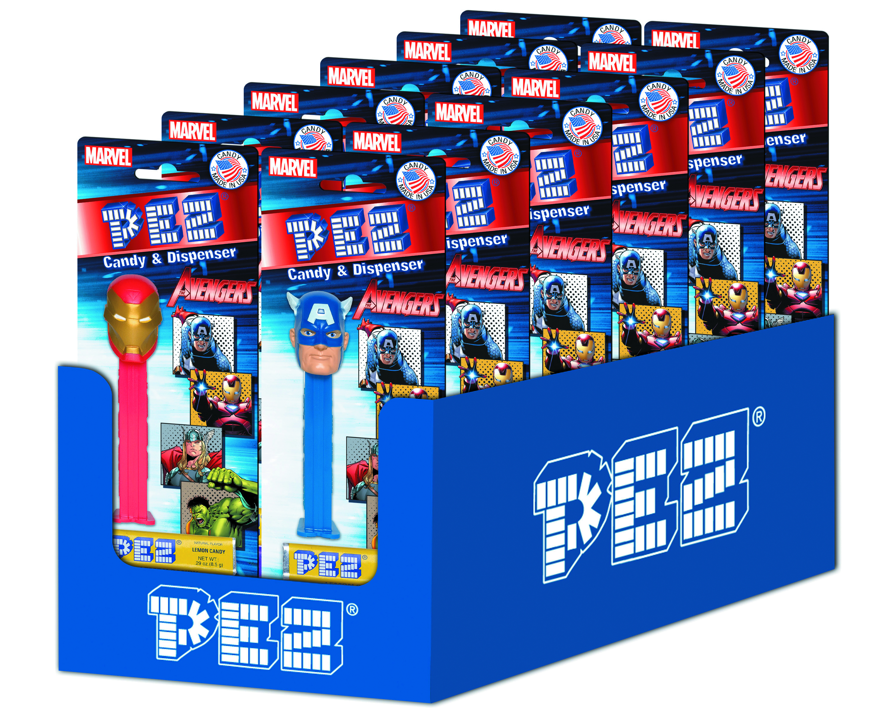 PEZ IRON MAN 3 MOVIE BLISTER PACK ASST