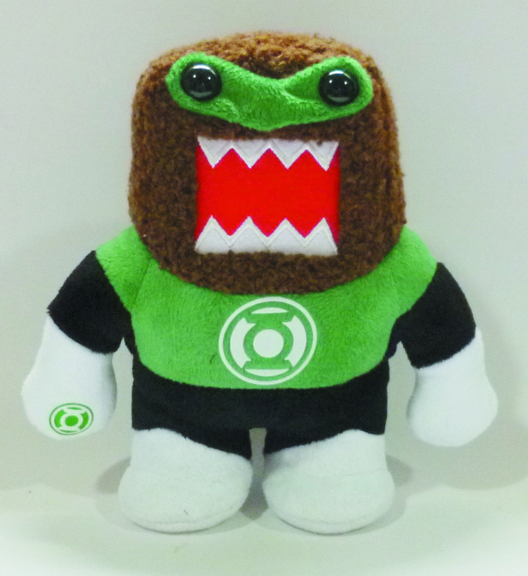DOMO GREEN LANTERN 9IN PLUSH