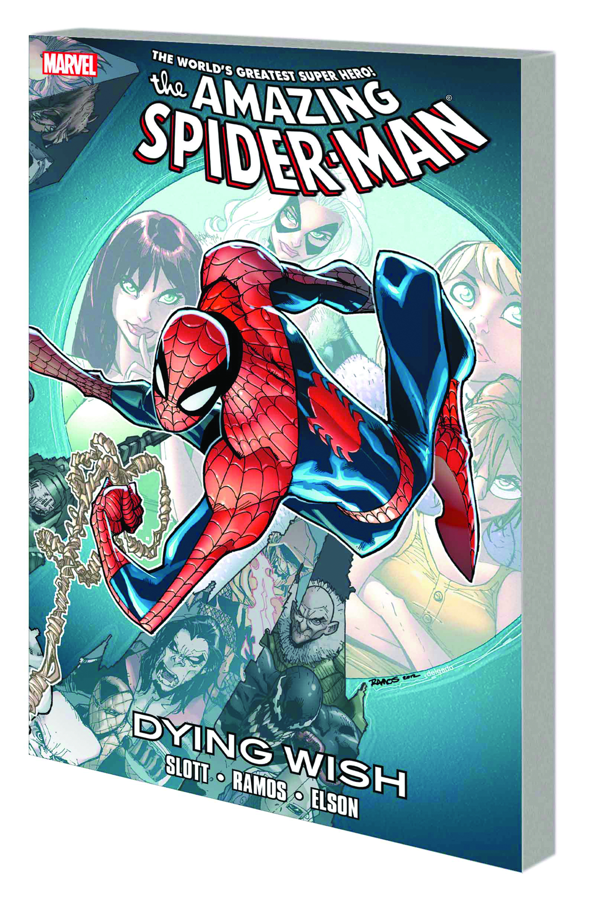 SPIDER-MAN TP DYING WISH