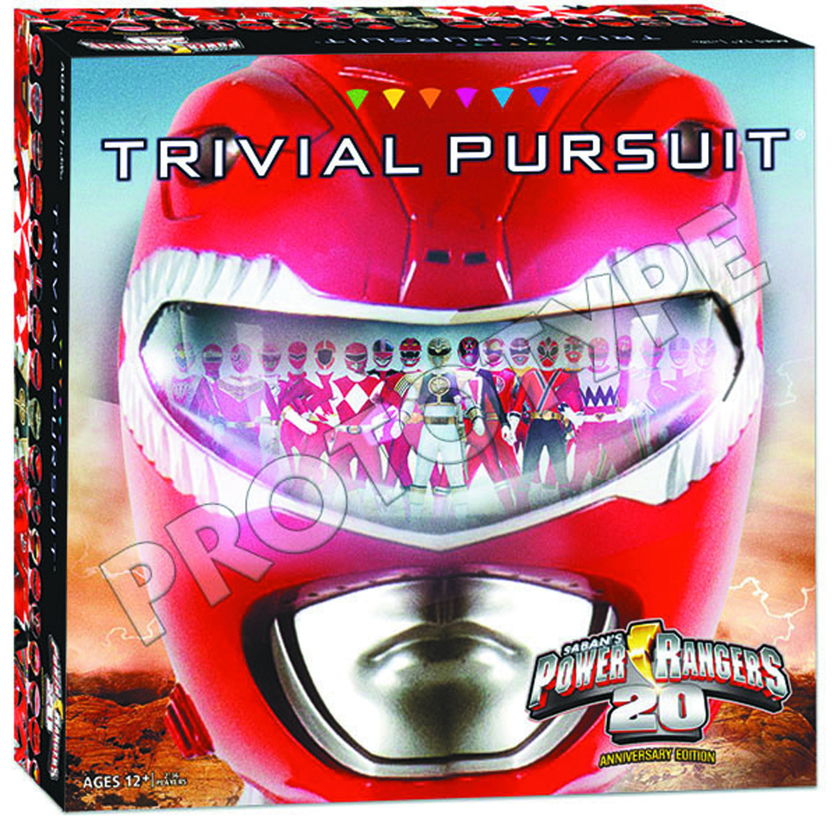 POWER RANGERS 20TH ANNIVERSARY TRIVIAL PURSUIT