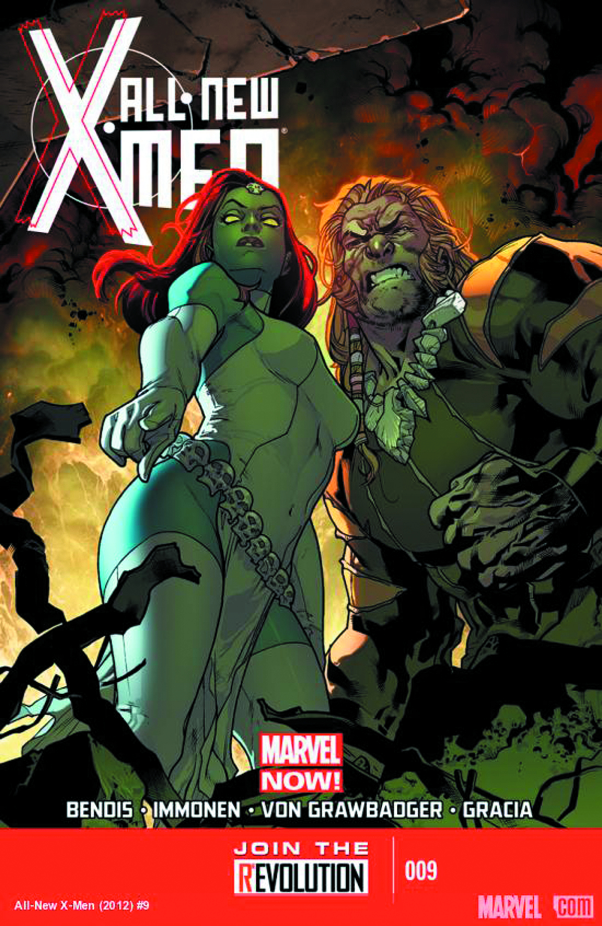 ALL NEW X-MEN #9 2ND PTG IMMONEN VAR NOW