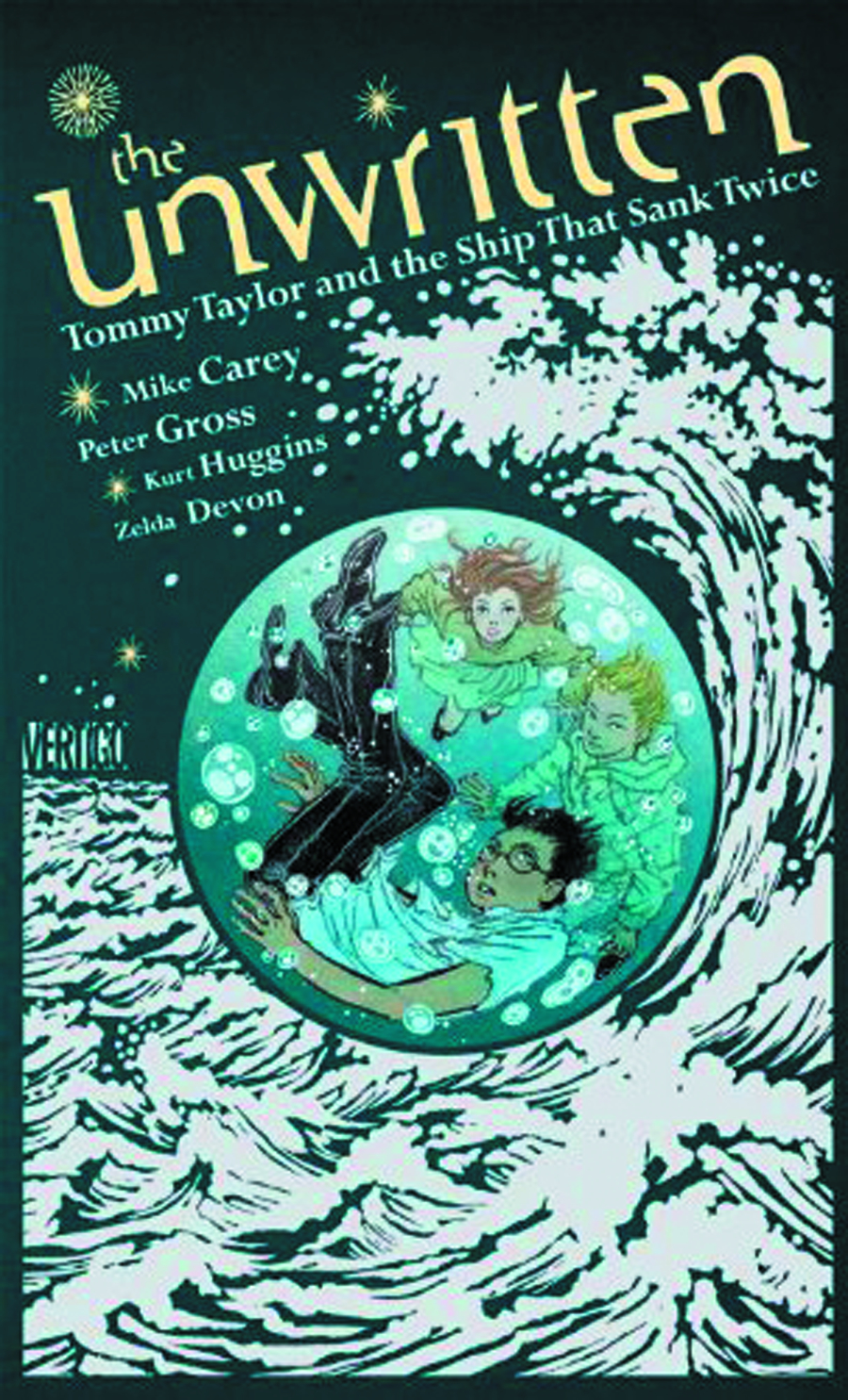 UNWRITTEN HC TOMMY TAYLOR & THE SHIP THAT SANK TWICE