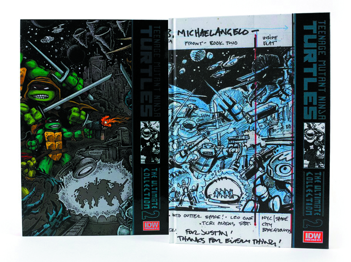 TMNT ULTIMATE COLLECTION HC VOL 02 RED LABEL ED