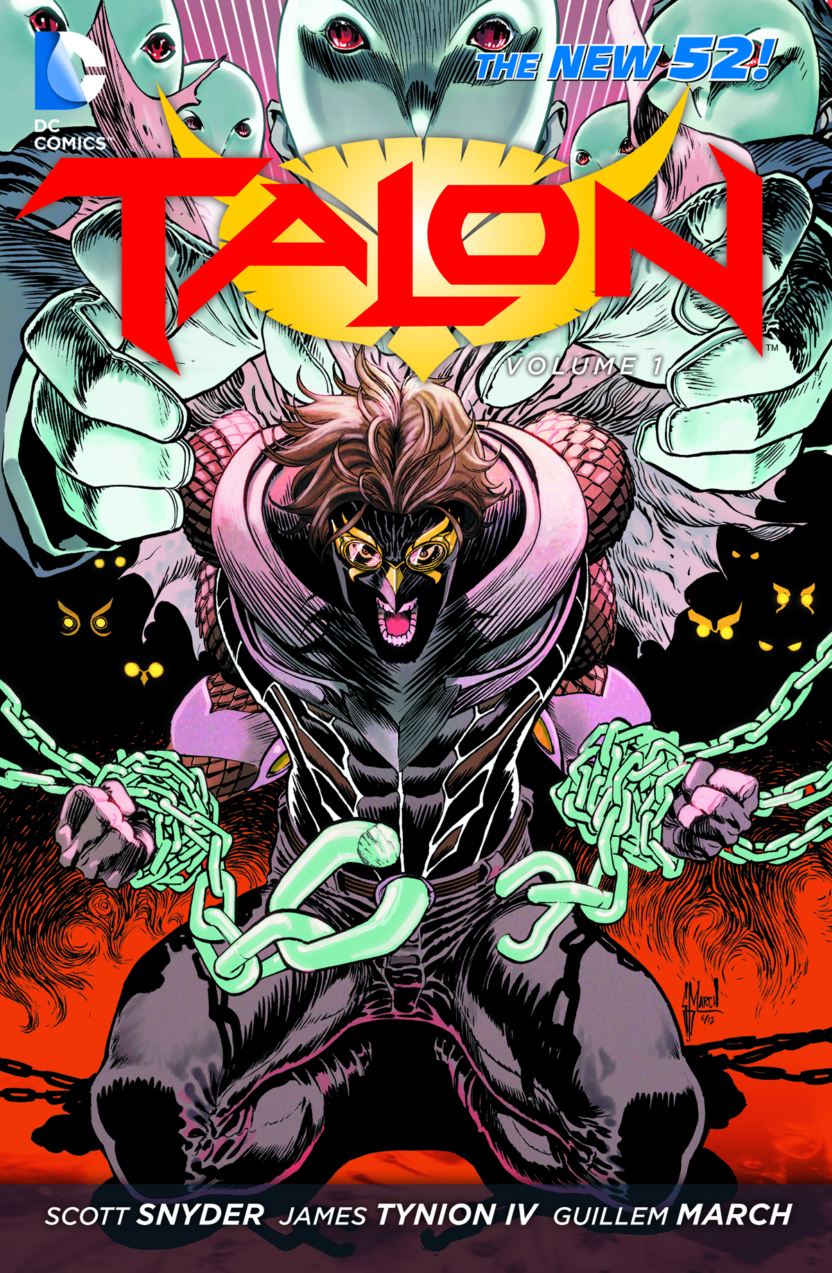 TALON TP VOL 01 SCOURGE OF THE OWLS