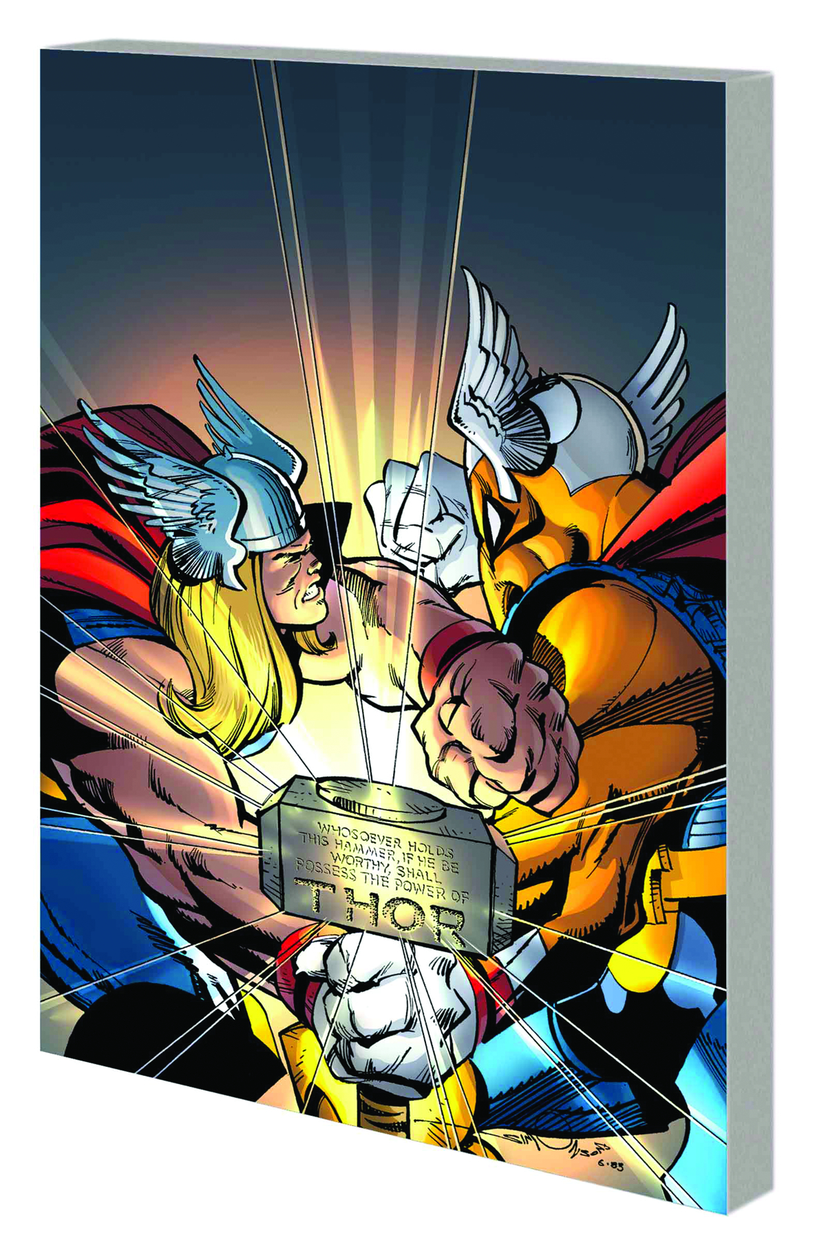 THOR BY WALTER SIMONSON TP VOL 01