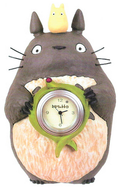 MY NEIGHBOR TOTORO TOTOROS SOUVENIR TABLE CLOCK