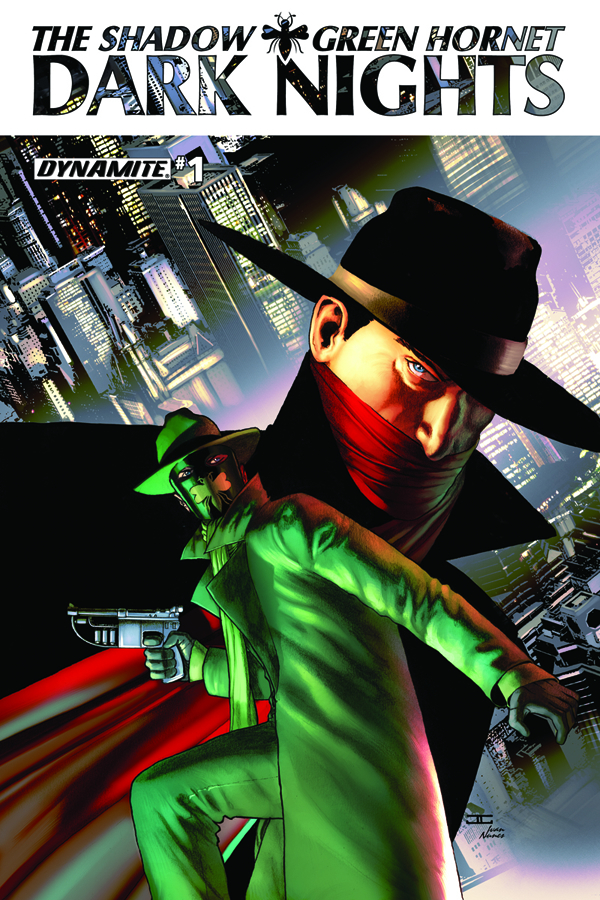 SHADOW GREEN HORNET DARK NIGHTS #1