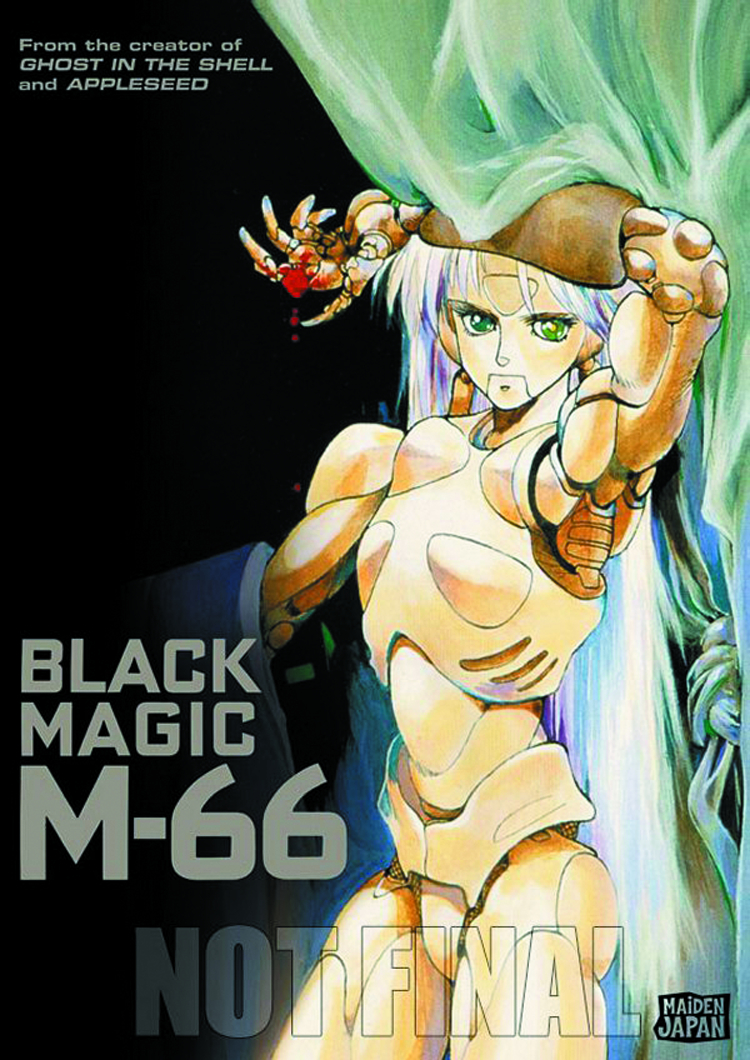 BLACK MAGIC M-66 DVD