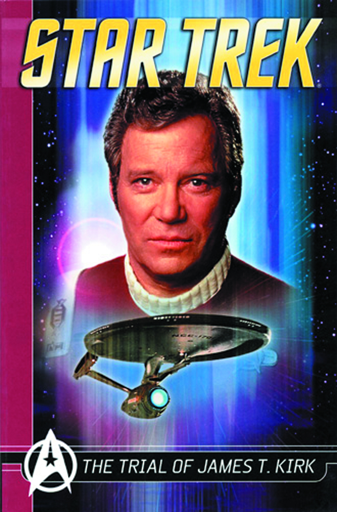 STAR TREK COMICS CLASSICS TP VOL 03 TRIAL JAMES T KIRK NEW P