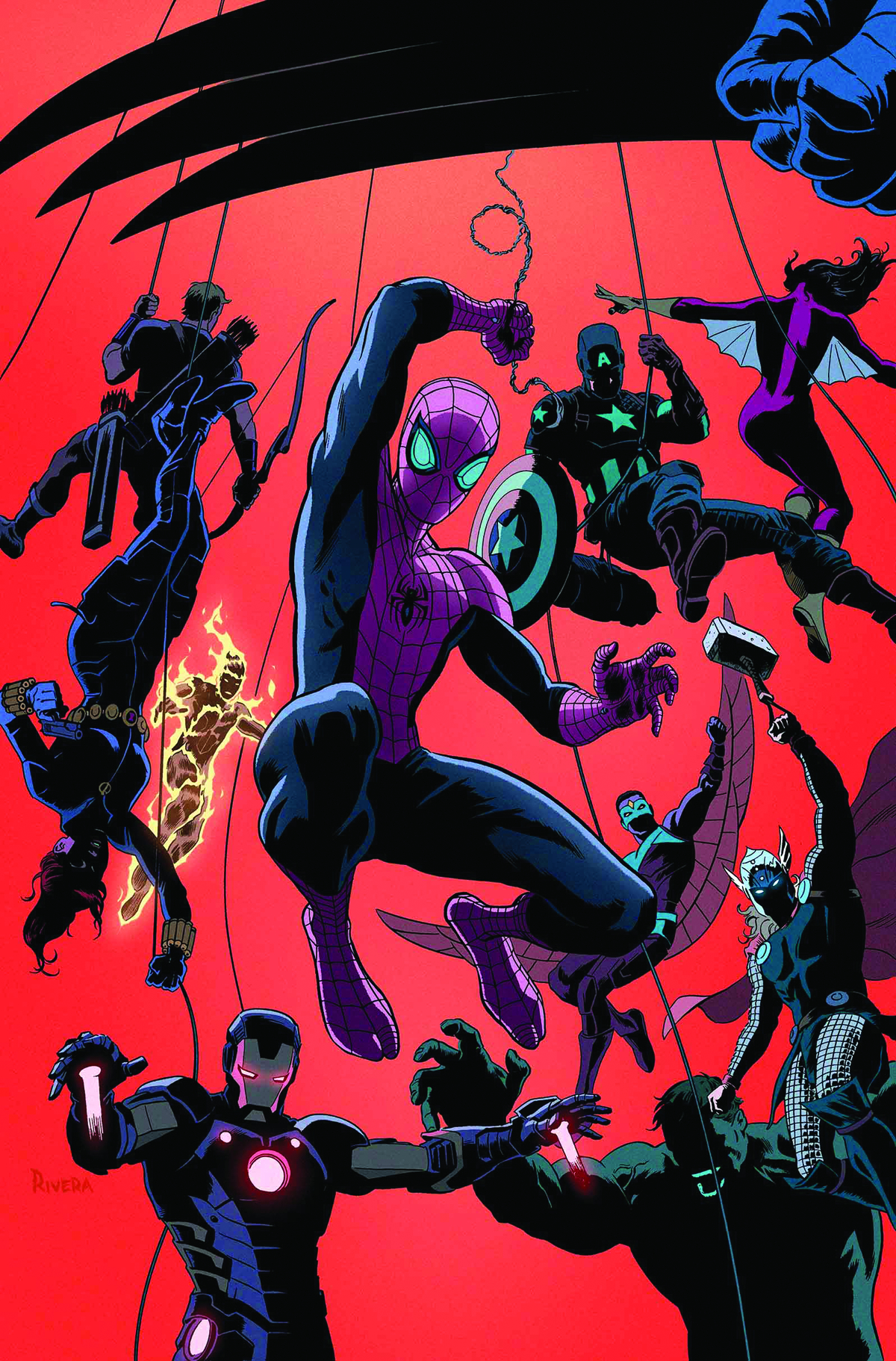 SUPERIOR SPIDER-MAN TEAM UP #1 NOW