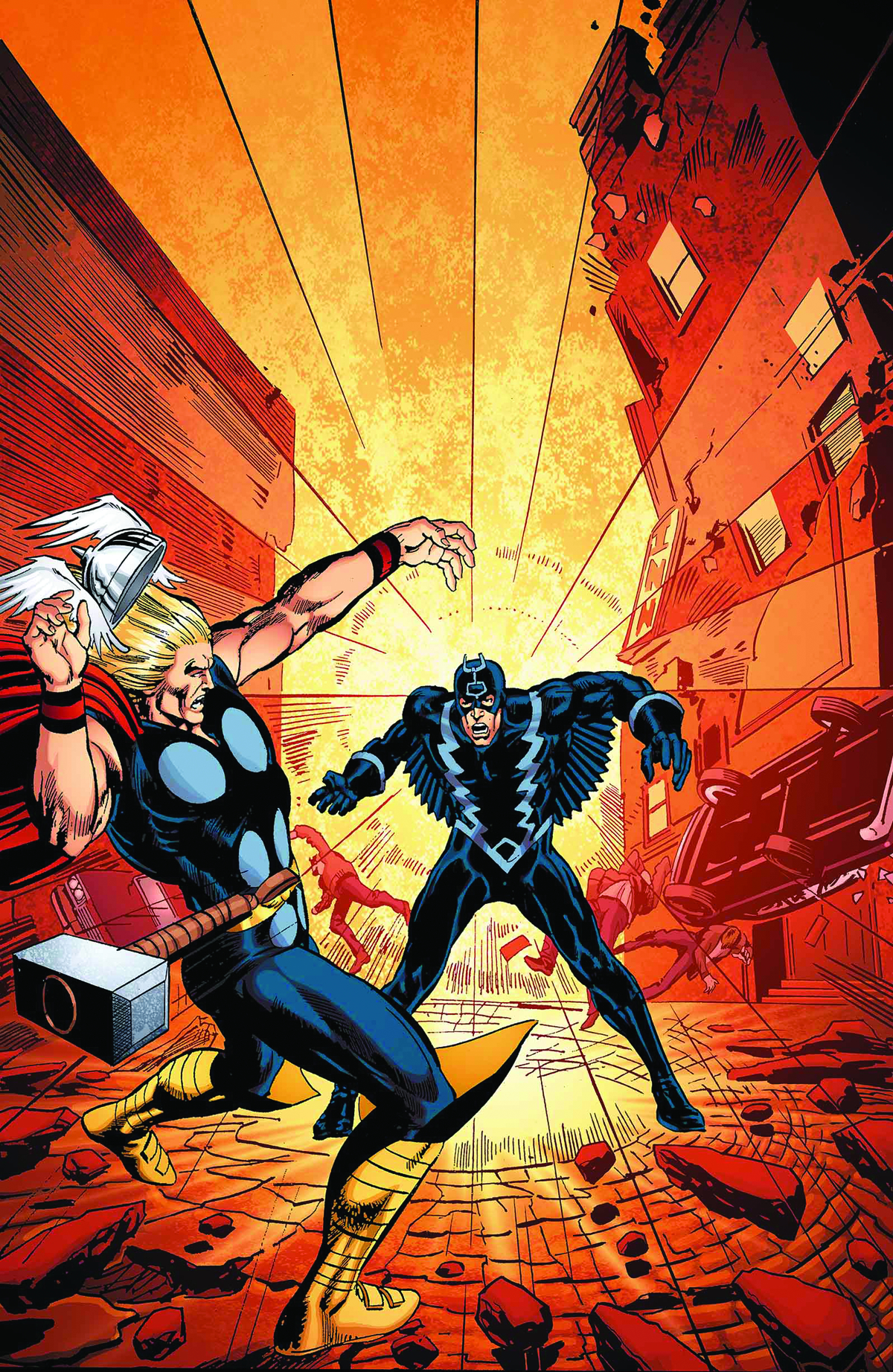 BLACK BOLT SOMETHING INHUMAN THIS WAY COMES