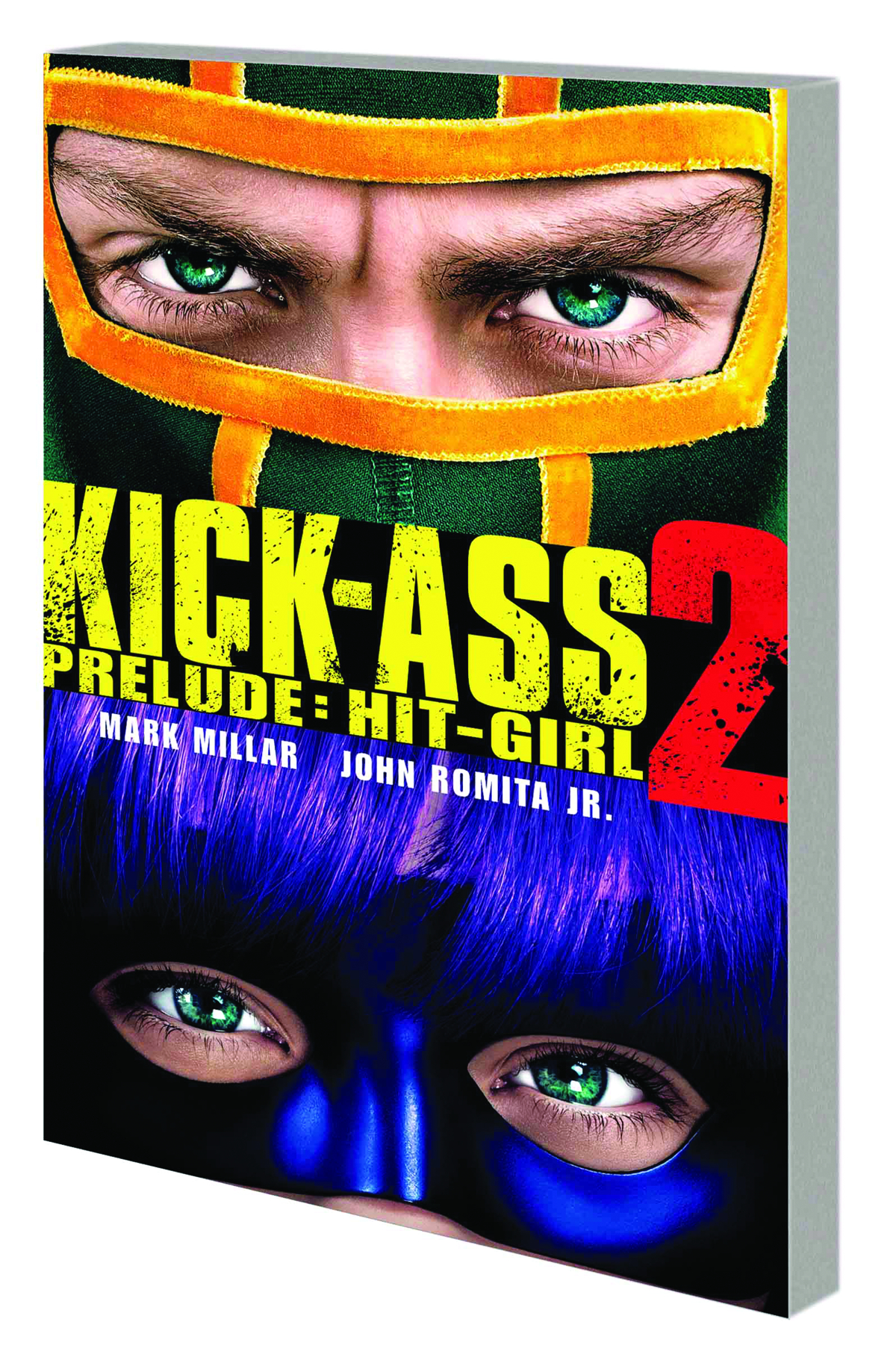 KICK-ASS 2 PRELUDE TP HIT-GIRL MOVIE CVR