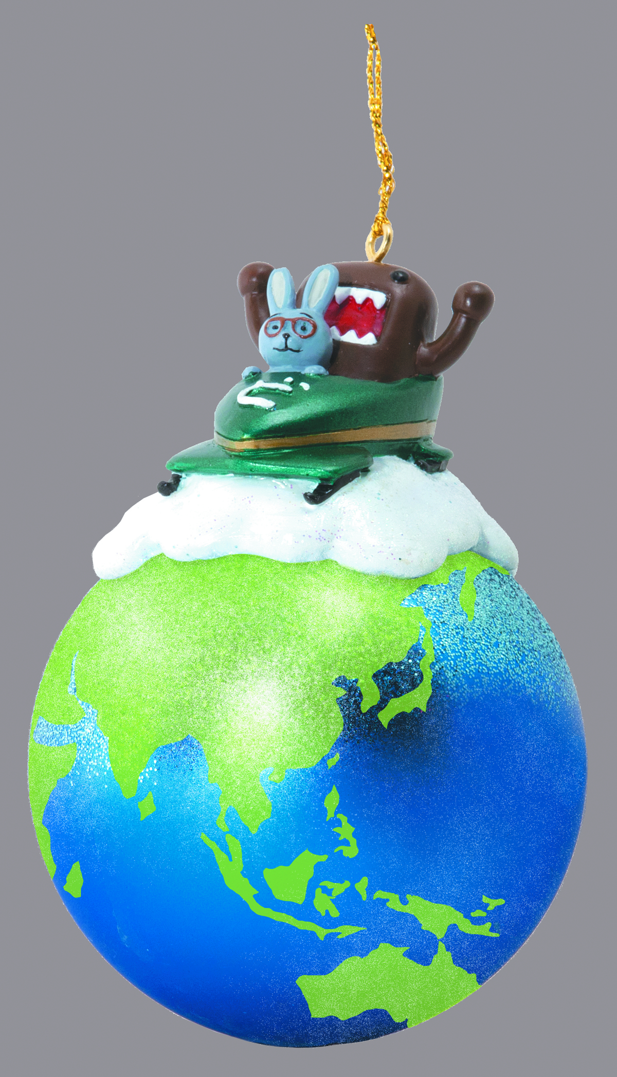 DOMO & FRIENDS ON EARTH ORNAMENT