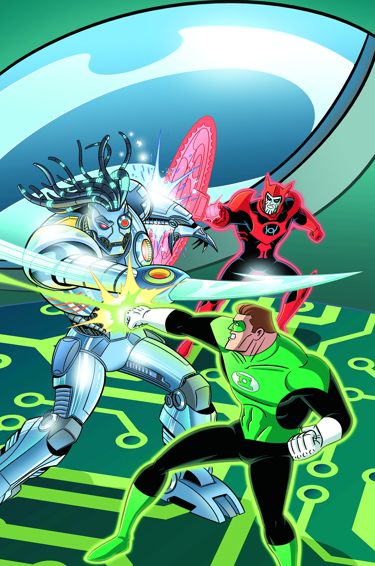 GREEN LANTERN THE ANIMATED SERIES #14