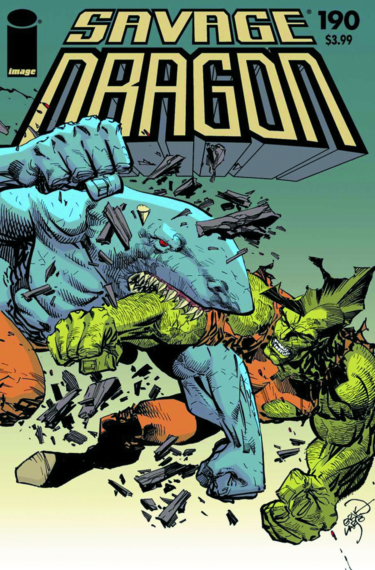 SAVAGE DRAGON #190 LTD ED DIGEST